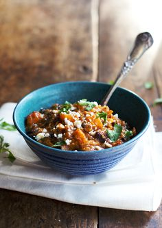 {Jalapeño sweet potato chicken chili.}