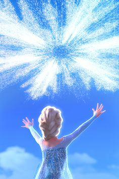 Elsa's snow powers