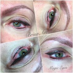 Magic Eyes•permanentmakeup•sminktetovalas•eyelid tattoo•PMU•BrisaArt•www.brisaart.hu