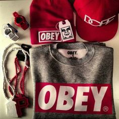 7 Best Obey Swag images in 2012 | Obey swag, Male fashion