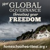 Global governance is trying to fix the world's problems—but it's creating an even bigger mess, and it could affect your family's freedom. Find out how on this week's Homeschool Heartbeat, with host Mike Farris and HSLDA attorney Mike Donnelly.