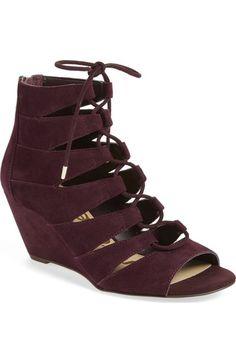 7d96d520a30d Sam Edelman  Santina  Lace-Up Wedge Sandal (Women) available at