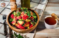 Σαλάτα με κοτόπουλο, πιπεριά και ντρέσινγκ φρούτων από τον Aκη Πετρετζίκη