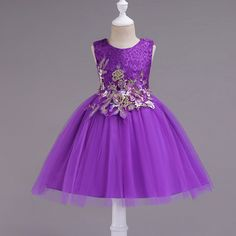 Little/Big Girls Elegant Lace Sleeveless Flower Party Dress for Age Baby Girl Party Dresses, Wedding Dresses For Girls, Little Girl Dresses, Baby Dress, Girls Dresses, Flower Girl Dresses, Formal Dresses, Dress Girl, Dress Anak