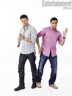 Karl Urban and Michael Ealy, Almost Human