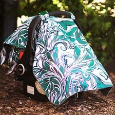 Carseat canopy...much easier than having to hold a blanket over the carseat when its cold out.