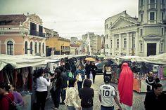 Street fair in Curitiba, Brazil-LARGO DA ORDEM