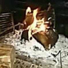 Η φωτιά στο τζακι