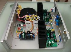 DIY BPA300 6x LM3886 300W audio Amplifier