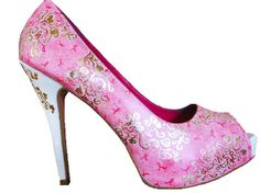 Breast Cancer Awareness Heels