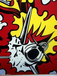 Roy Lichtenstein à Pompidou 10 Octobre 2013.
