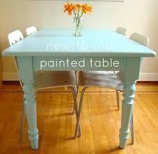 Znalezione obrazy dla zapytania hand painted white table