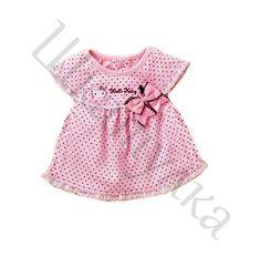 Выкройка платья с рукавом-реглан для малышки, р-р 98