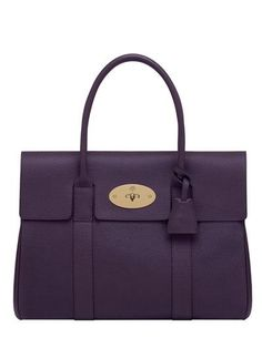 Mulberry - Bayswater Grained Leather Top Handle