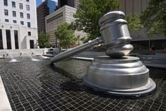 And finally, if you've ever wondered where the world's largest gavel was (I mean, who hasn't?) it can be found in downtown Columbus.