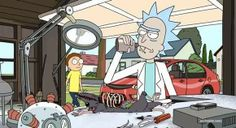 """Mad #Scientists Are Fun To Watch - Rick And Morty """"M. Night Shaym-Aliens!"""" Episode"""