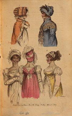 March 1807 fashion plate