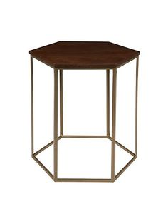 Cleo hexagonal side table £210