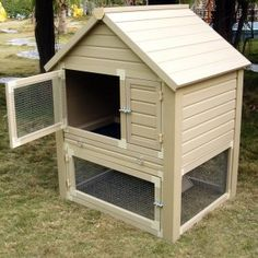 Looking for rabbit hutch ideas for our bunny.