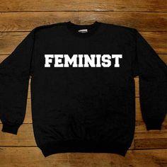 Feminist Classic -- Women's Sweatshirt/Long-Sleeve – Feminist Apparel