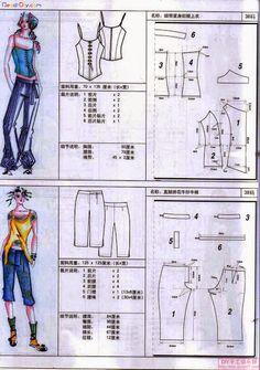 PANTS (Chinese method of pattern making) - SSvetLanaV - Веб-альбомы Picasa