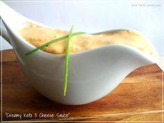 Creamy Keto Three Cheese Sauce