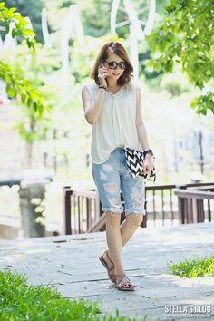 【開箱】最近常穿的真皮bussola鉚釘涼鞋,好穿又超百搭 @ ♥STELLA'S BLOG♥ Stella小美人。史黛拉 :: 痞客邦 PIXNET ::