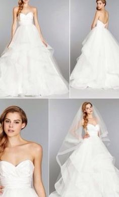 Hayley Paige Londyn 6358 2: buy this dress for a fraction of the salon price on PreOwnedWeddingDresses.com