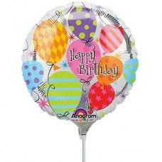 Birthday Balloon Foil Delivery Cake Wedding Balloons
