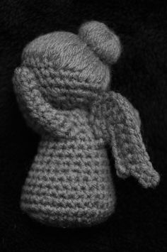 This listing is for the PATTERN ONLY - not the finished item! INSTANT DOWNLOAD: After payment is complete, you will receive a email sent to your Etsy email with an instant download of the pattern as a PDF file. You will need Adobe Reader to view the pattern (available for free at http://www.adobe.com) * * * Don't blink. This weeping angel can only move when no one is looking, but if she gets you, she'll send you back in time. Although maybe it'll only be a few minutes back because she...