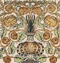William Morris Cross Stitch Kits, Patterns | Yiotas XStitch