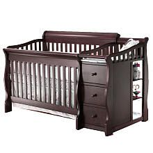 Sorelle Princeton 4-in-1 Convertible Crib