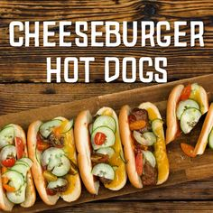 Cheeseburger Hot Dog The post Cheeseburger Hot Dog appeared first on Food Monster. Gourmet Sandwiches, Grilled Sandwich Recipe, Vegetarian Sandwich Recipes, Picnic Sandwiches, Healthy Sandwiches, Grilling Recipes, Dog Food Recipes, Breakfast Sandwiches, Cheeseburgers