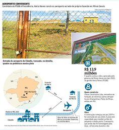 Governo de Minas fez aeroporto em terreno de tio de Aécio - 20/07/2014 - Poder - Folha de S.Paulo