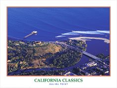 MALIBU POINT California Classics Surfing Poster -Available at www.sportsposterwarehouse.com