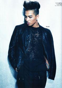 Taeyang for L'Officiel Hommes