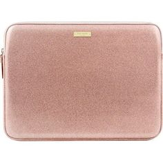 kate spade new york Glitter Sleeve for Apple MacBook - Rose Gold for sale online Mac Book, Macbook Accessories, Tech Accessories, Pochette Mac, Macbook Laptop, Laptop Bags, Macbook Air Sleeve, Mac Laptop, Gold For Sale