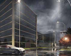 """Check out new work on my @Behance portfolio: """"Parking in Novosibirsk"""" http://on.be.net/1OhA8cv"""