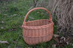 Hey, I found this really awesome Etsy listing at https://www.etsy.com/listing/216923723/handmade-wicker-basket-handwoven-willow