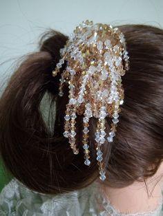 Vintage hair comb Wedding Hair Accessories by DesignByIrenne