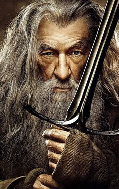 gandalf the grey the hobbit -Ian McKellen Gandalf, Aragorn, Hobbit 1, Ian Mckellen, Desolation Of Smaug, Jrr Tolkien, Middle Earth, Lord Of The Rings, Pop Culture