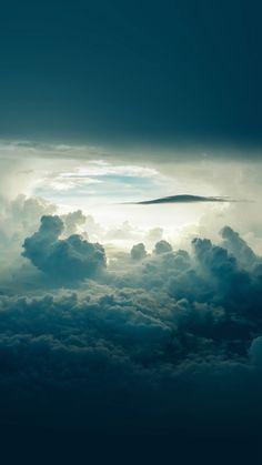 Sky Cloud Blue Nature Summer iPhone 6 wallpaper
