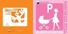 parcheggi rosa e bimbox, comune di siena