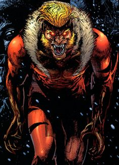 Sabretooth - Marvel comics