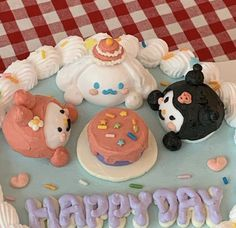 Funny Birthday Cakes, Pretty Birthday Cakes, Pretty Cakes, Korean Cake, Frog Cakes, Cute Desserts, Just Cakes, Let Them Eat Cake, How To Make Cake
