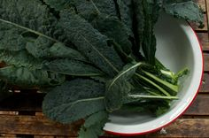 Organic Lacinato Dinosaur Kale Seeds - Perfect for Fall Gardens. $3.75, via Etsy.