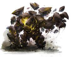 earth elemental [Earth Elemental Design by Christopher Onciu]