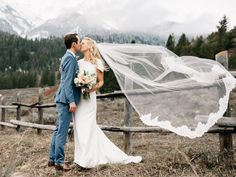 modest wedding dress with draped sleeves from alta moda. -- (modest bridal gown)