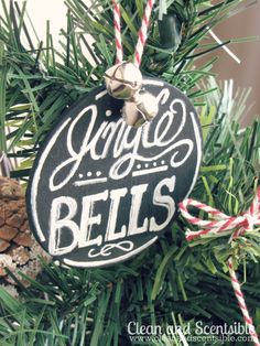 Chalkboard Art Ornaments