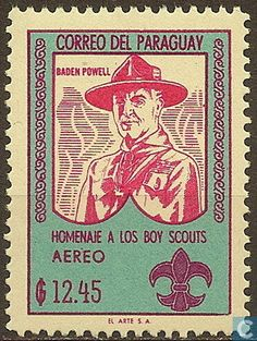 Stamps - Paraguay - Scouting 1962